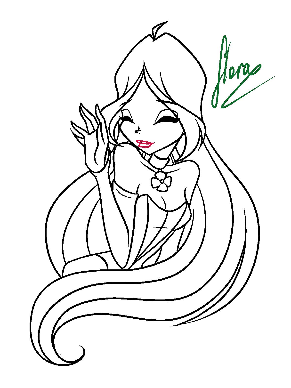 Как нарисовать открытку винкс, открытки