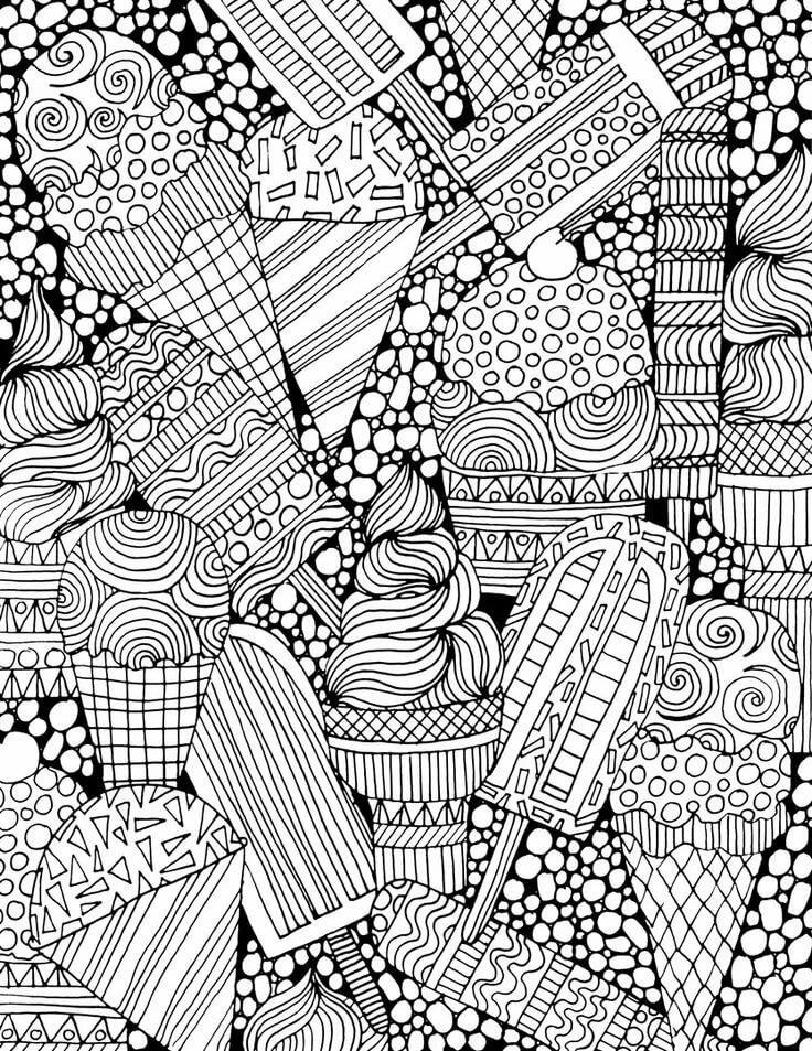 Красивые черно-белые рисунки для распечатки длинное