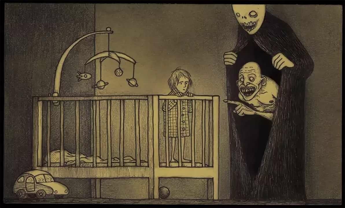 Детские картинки страшные