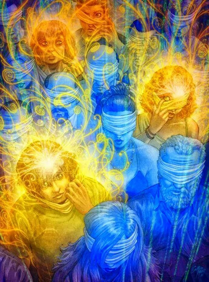 окружение создает наше подсознание картинки