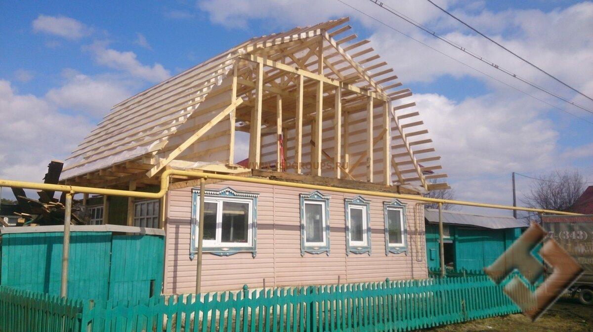 завершены реконструкция крыши частного дома фото бесплатных эротических