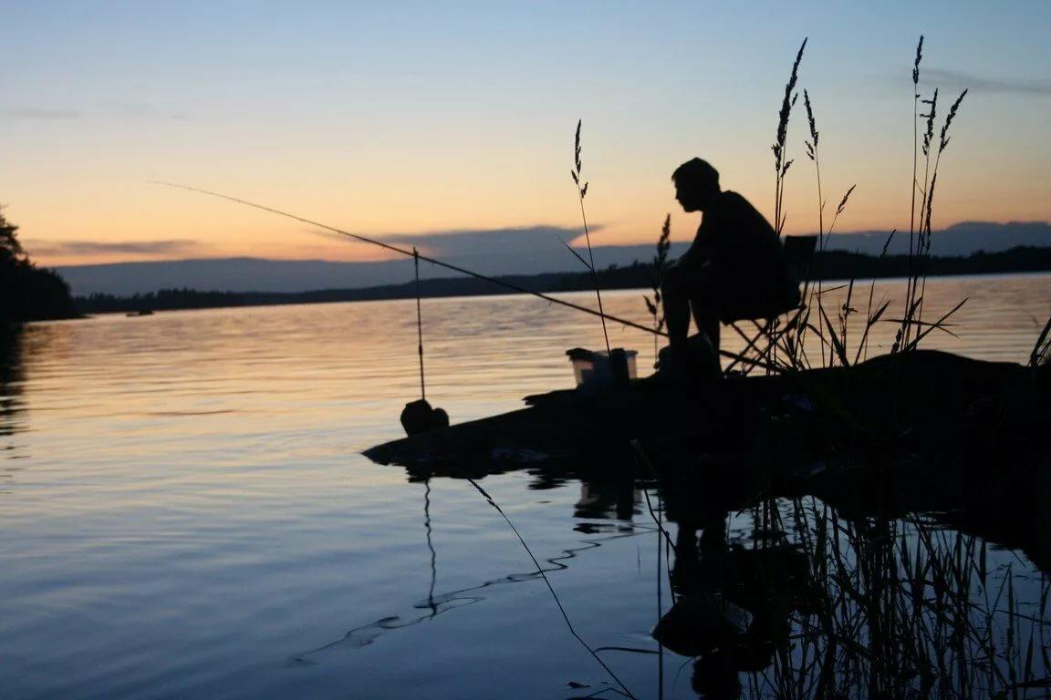 Картинки рыбалка на озере