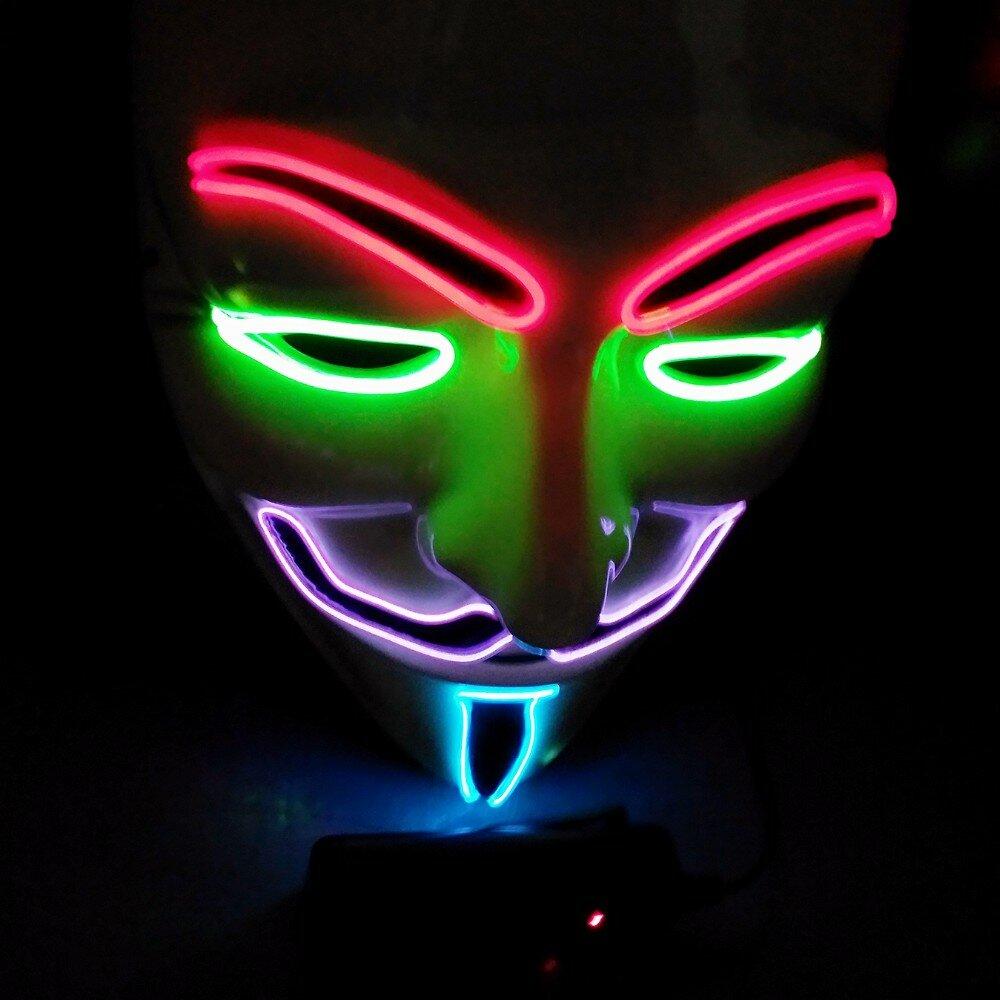 говорил картинки со светящимися масками начала