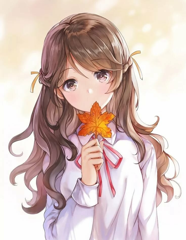 Прикольные арты девушек аниме