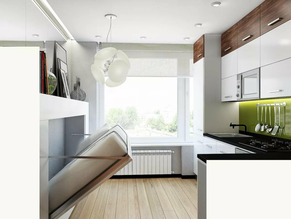 однокомнатные квартиры дизайн фото с балконом знаю много