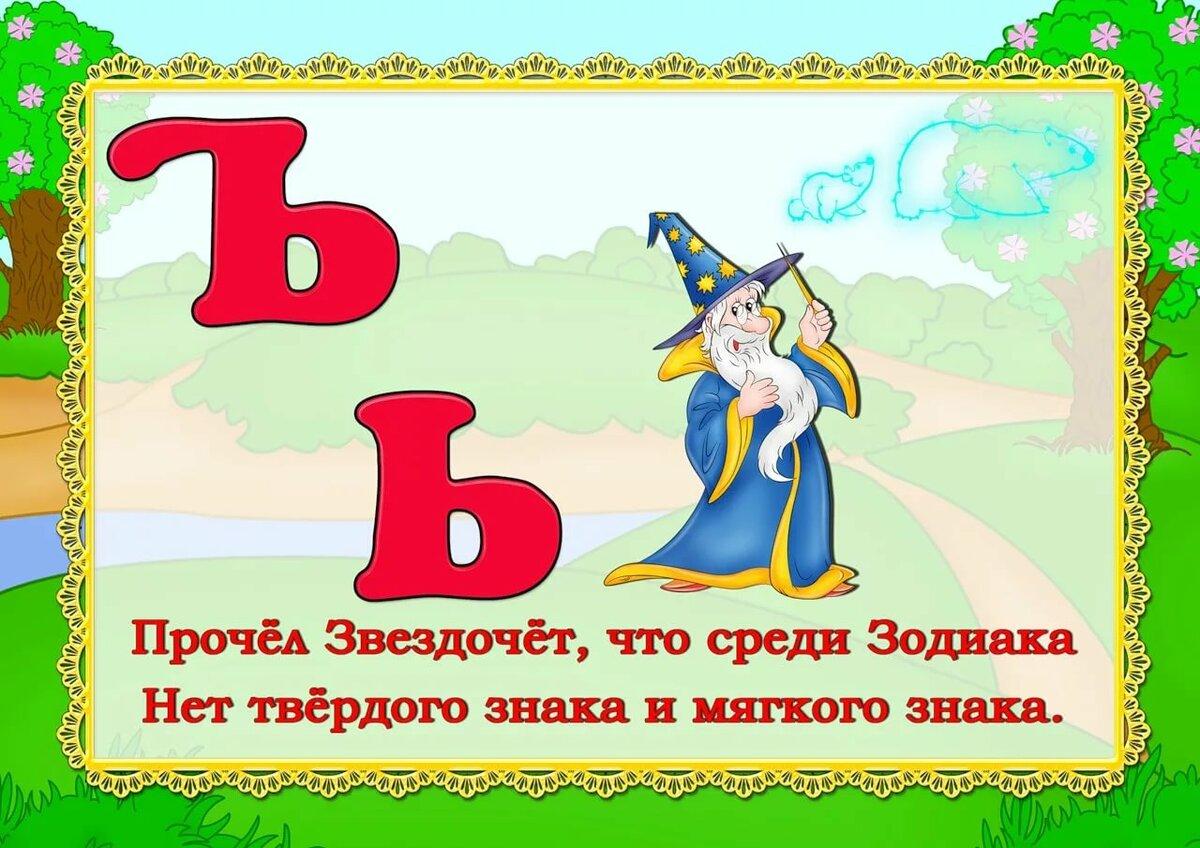 Алфавит русский для детей в стихах и картинках