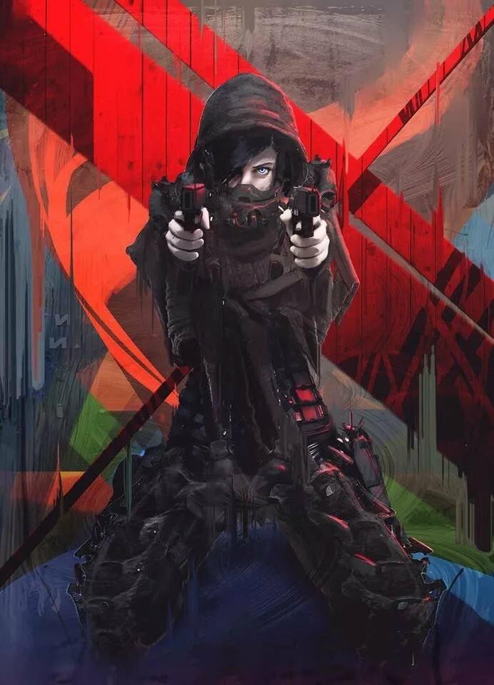 Картинки снайпера в стиле аниме на аву