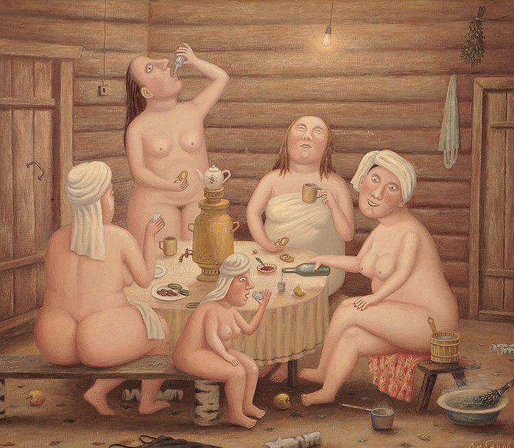 эротика банный день - 9