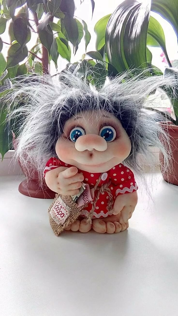 Куклы в чулочной технике фото