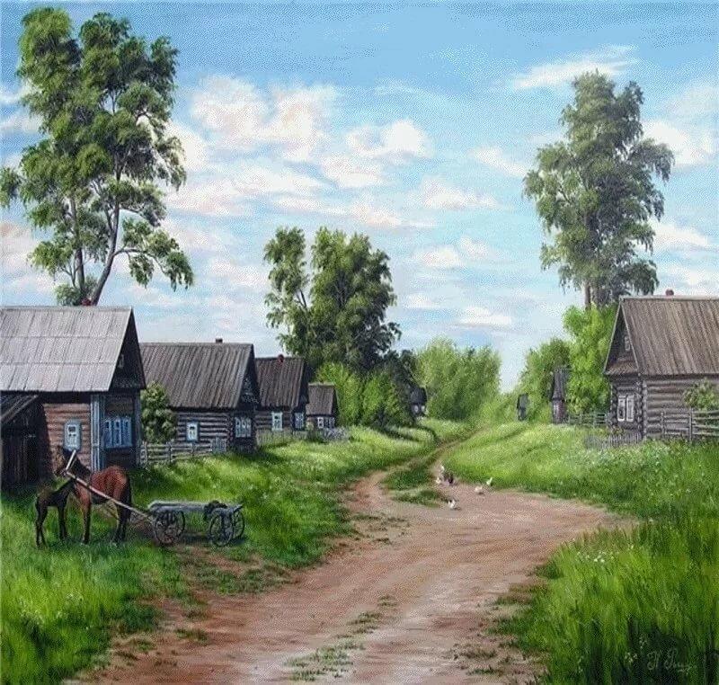 Картинка я с деревни