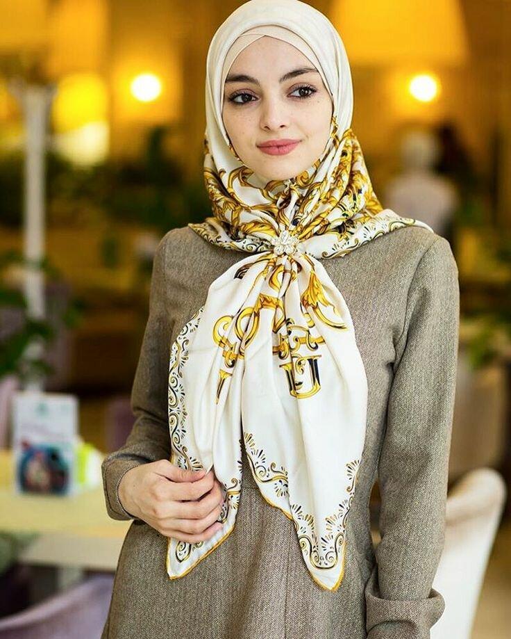 Картинка мусульманки в платке