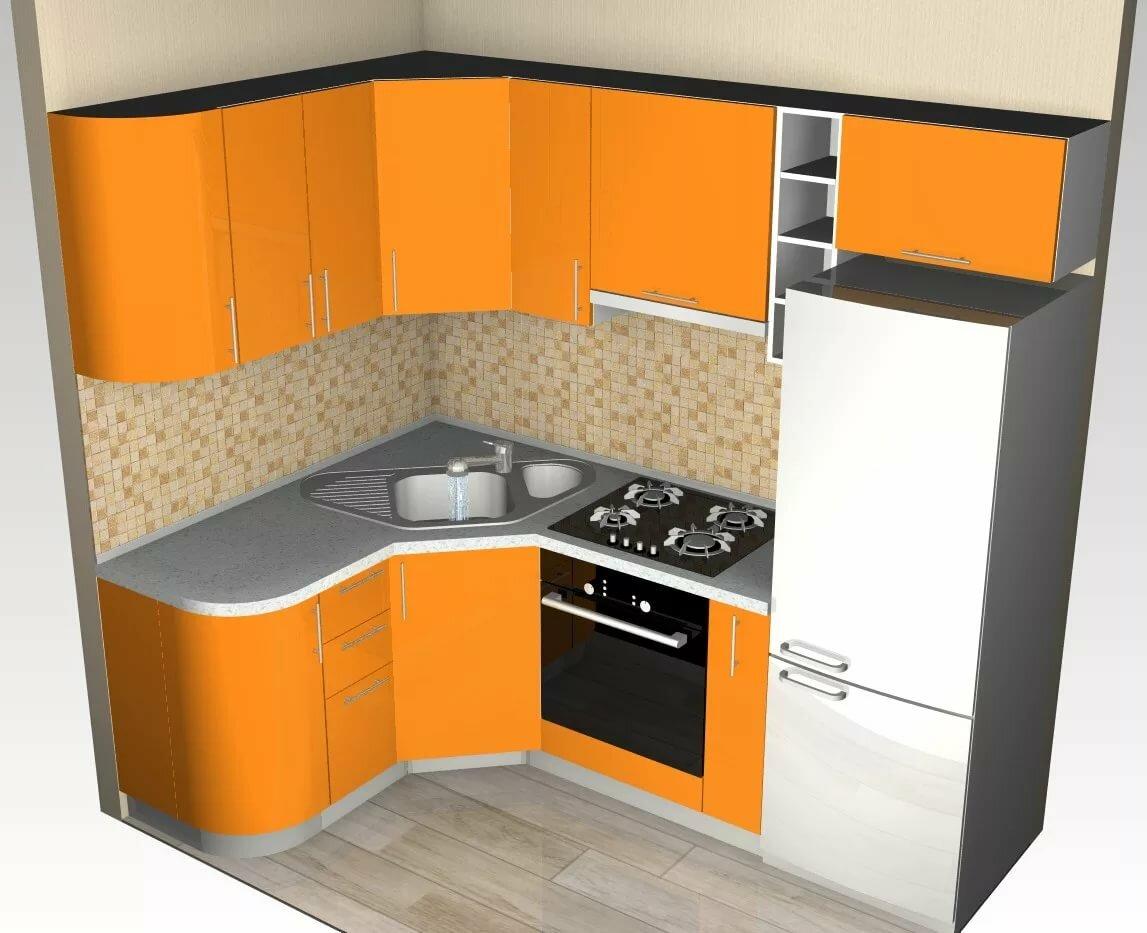 изготовления картинки кухонных гарнитуров для маленькой кухни угловые фото время исполнения