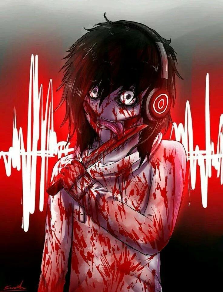 Страшные картинки про убийц