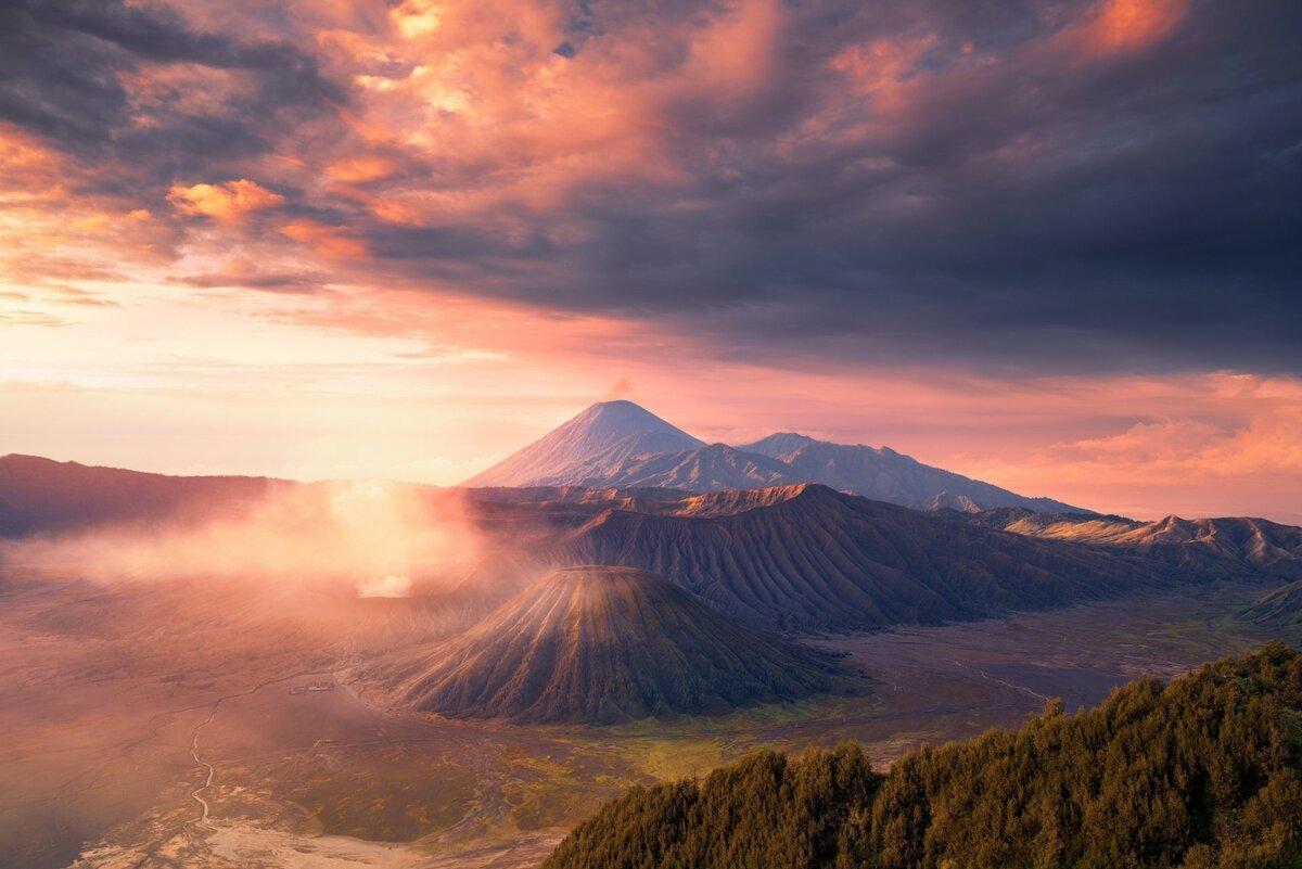 фото горы вулканы привычного хлеба, который