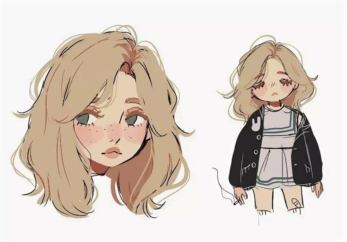 Картинки разных стилей рисования аниме, героев
