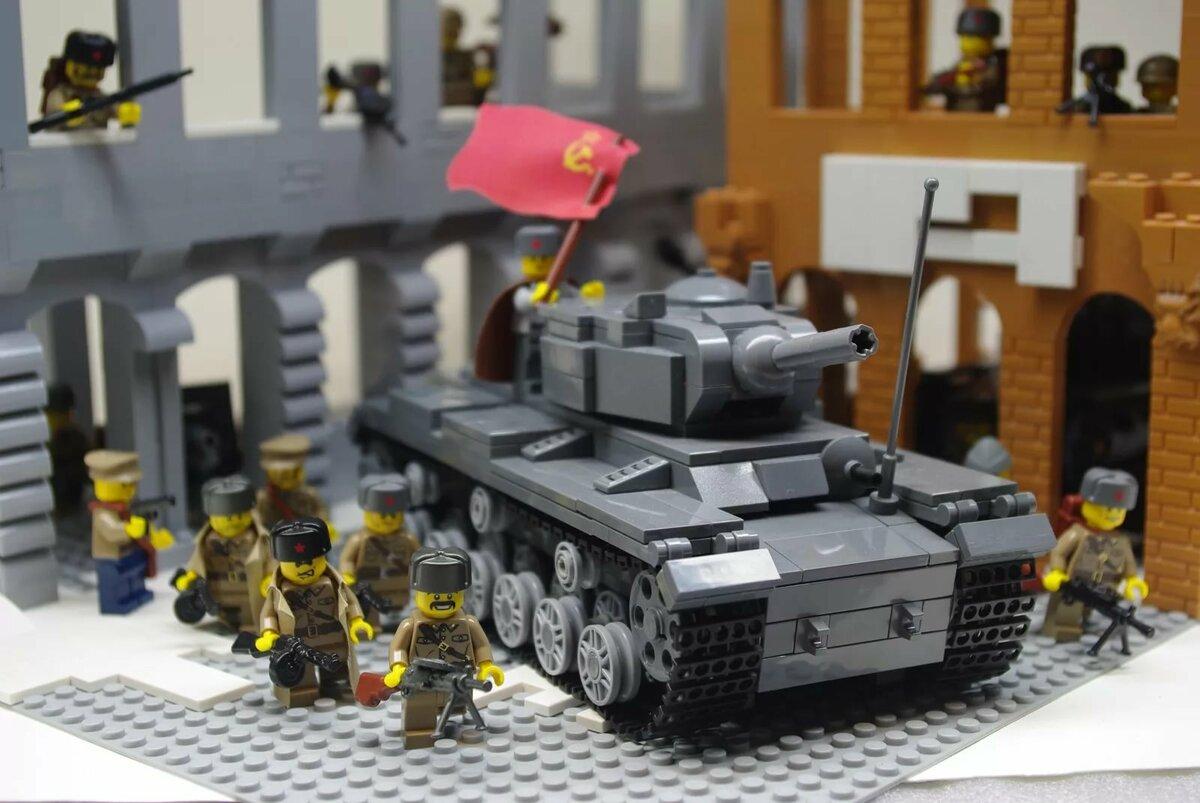 Картинки лего танки война