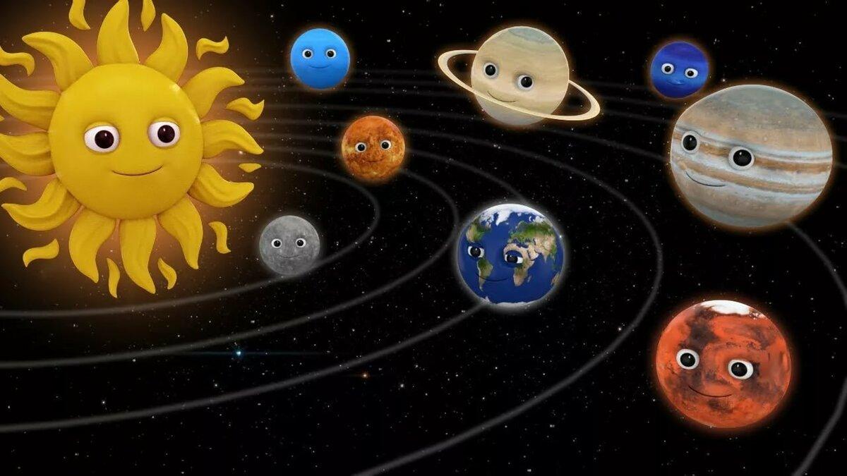 Открытка планеты солнечной системы, джерри прикольные