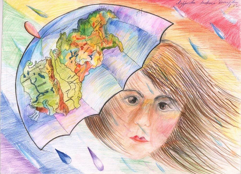 Открытки глазами детей, открытка юбилей лет