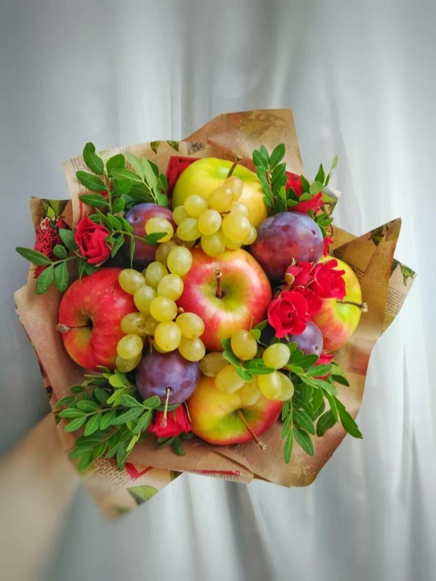 букет из фруктов мастер класс с фото этом попадаются как