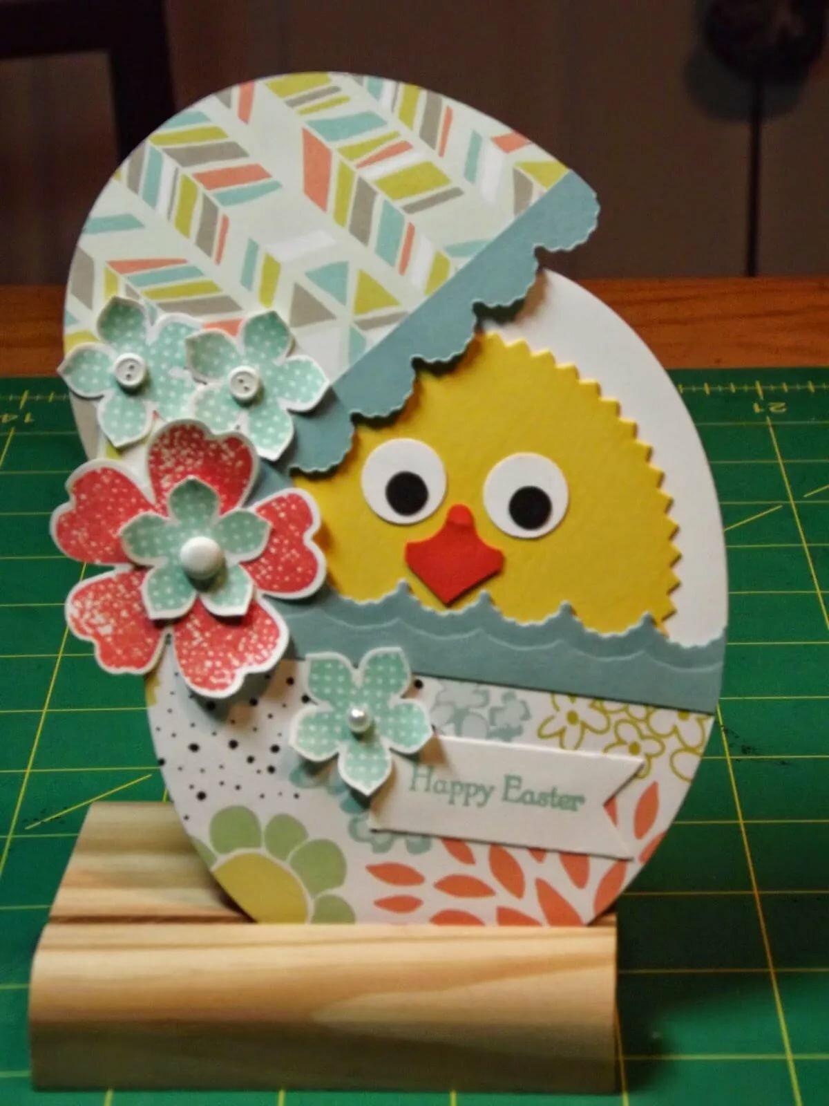 Как сделать открытку яйцо