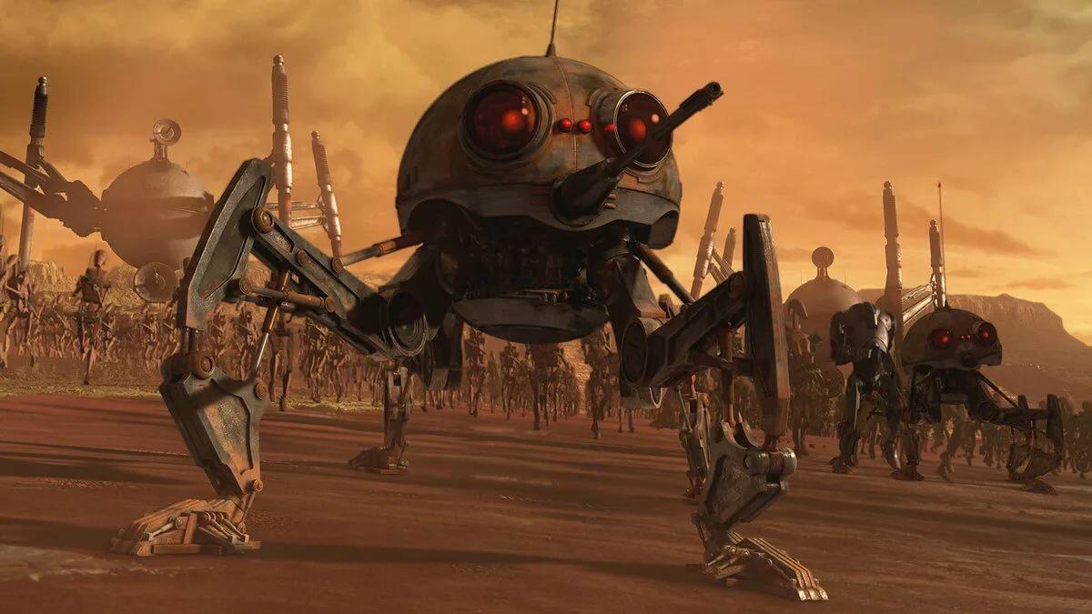 картинки армии дроидов должен