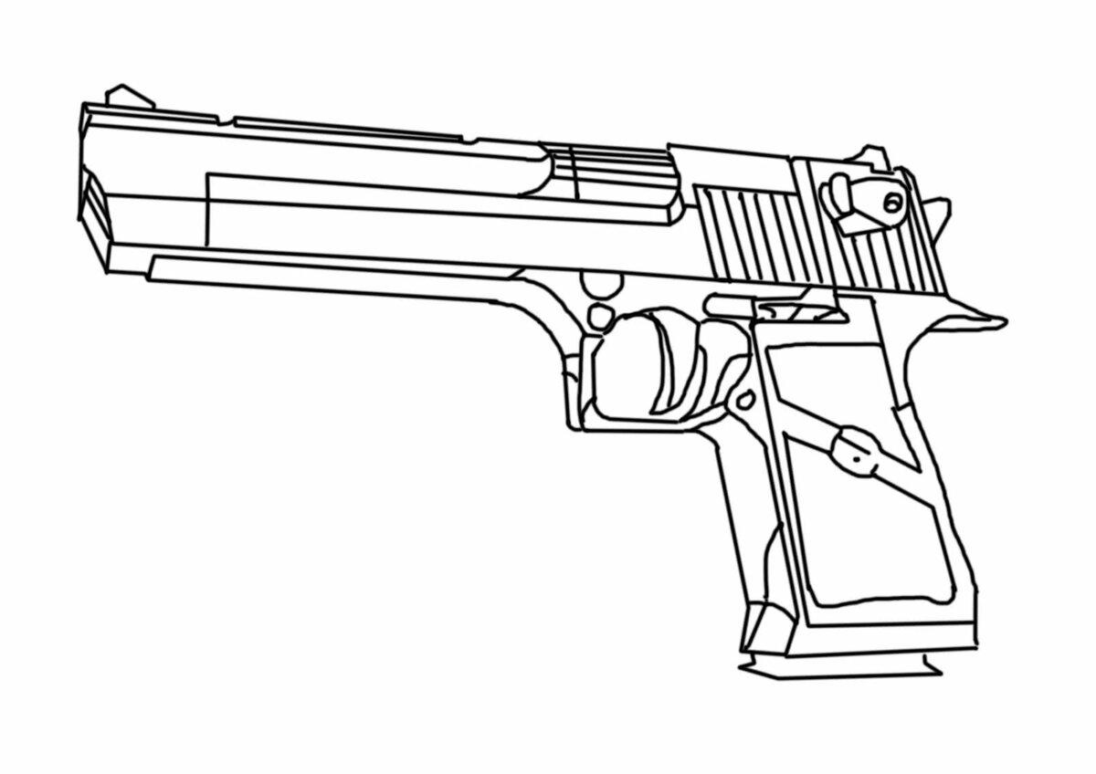 Крутые рисунки оружия