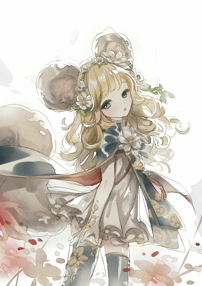 Лин из аниме картинки