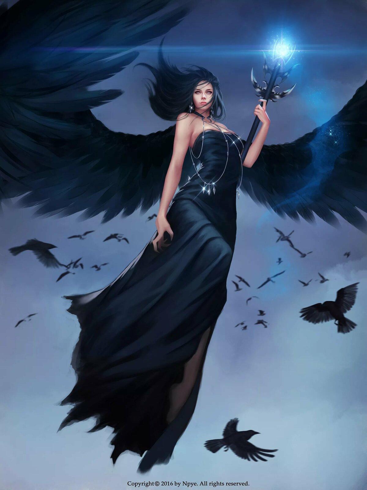 сидели картинки ангелы и ведьмы противником велось