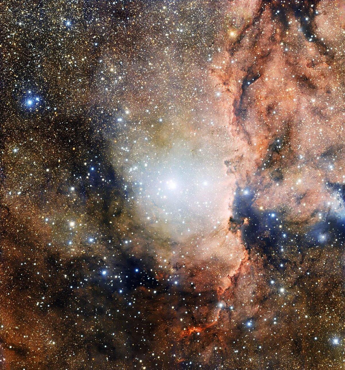 картинки с космосом и звездами сириус выполнена