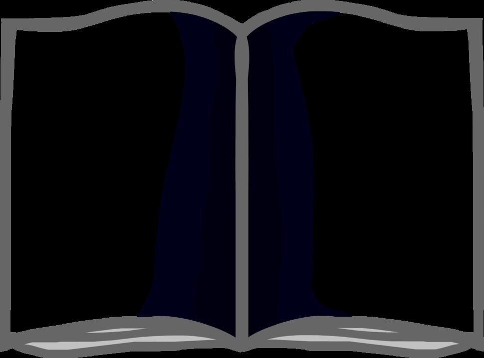Картинка разворот книги контур