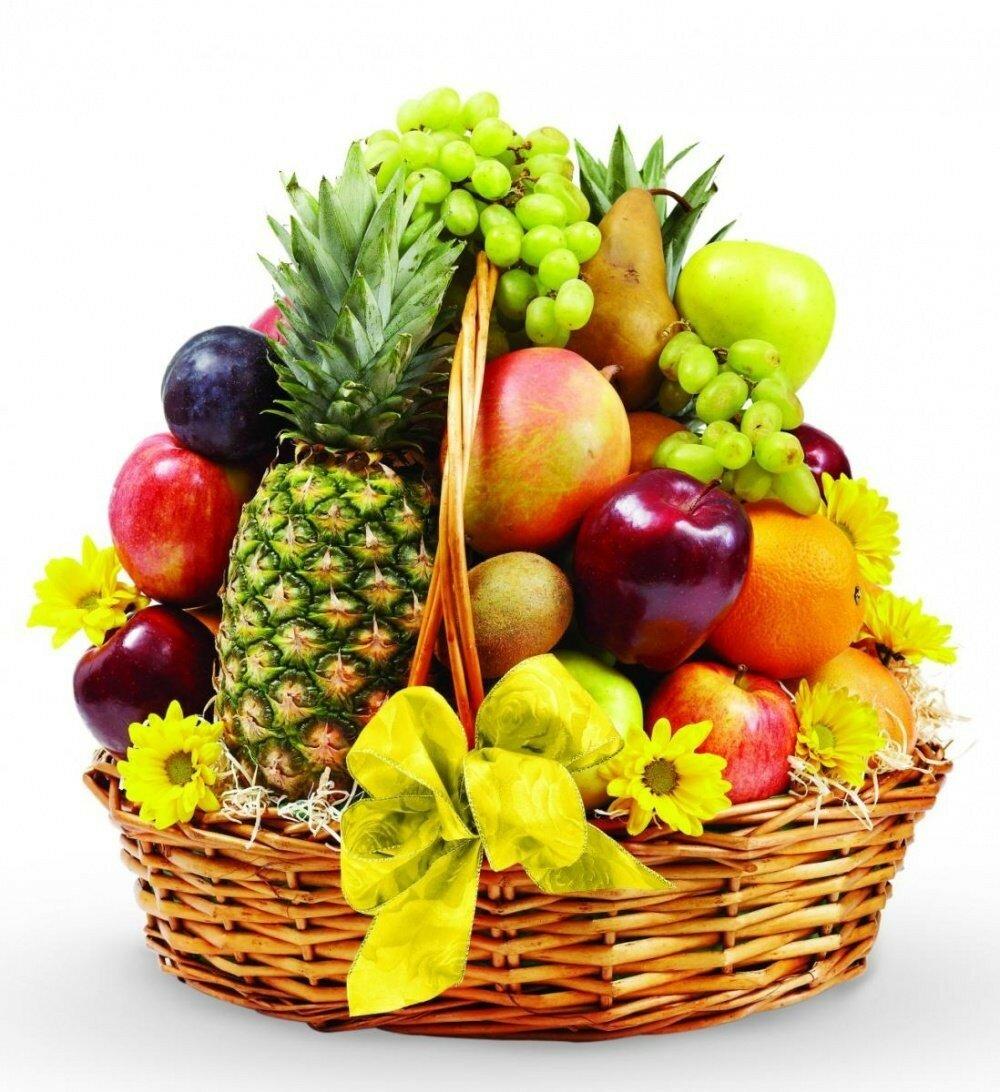 Открытки овощей и фруктов