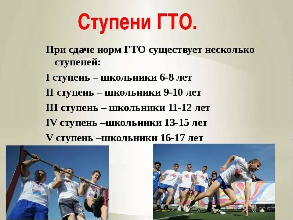 Гто в россии реферат