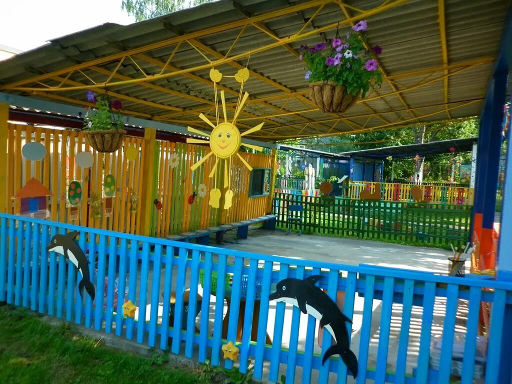 Веранда детский сад фото