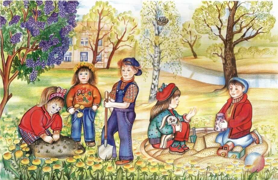 Картинки школа весной