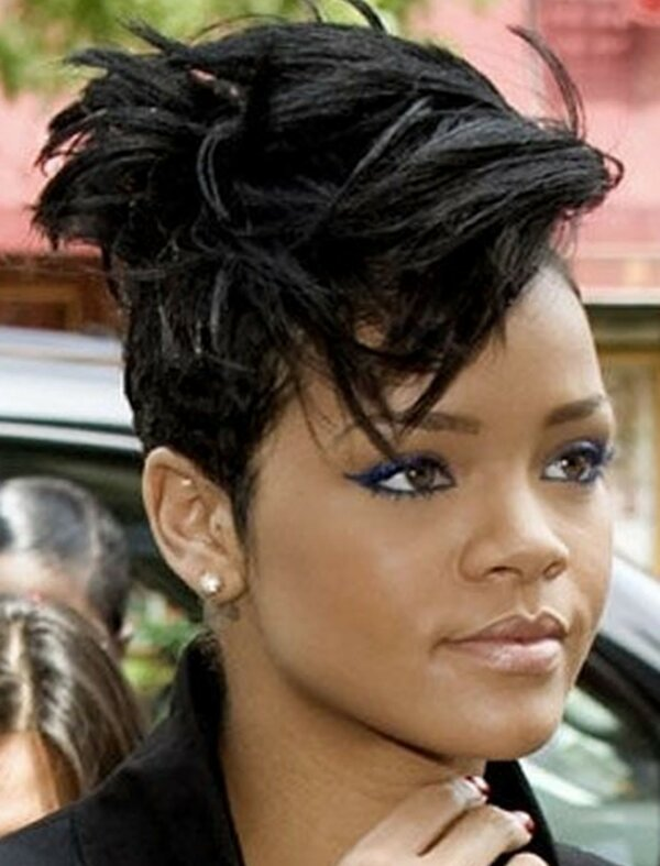 Short Black Haircuts 2020 74