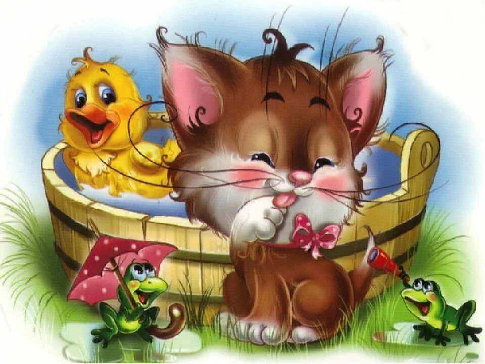 Смешные картинки для детей 9 лет про животных с добрым утром, соболь открытки юбилей