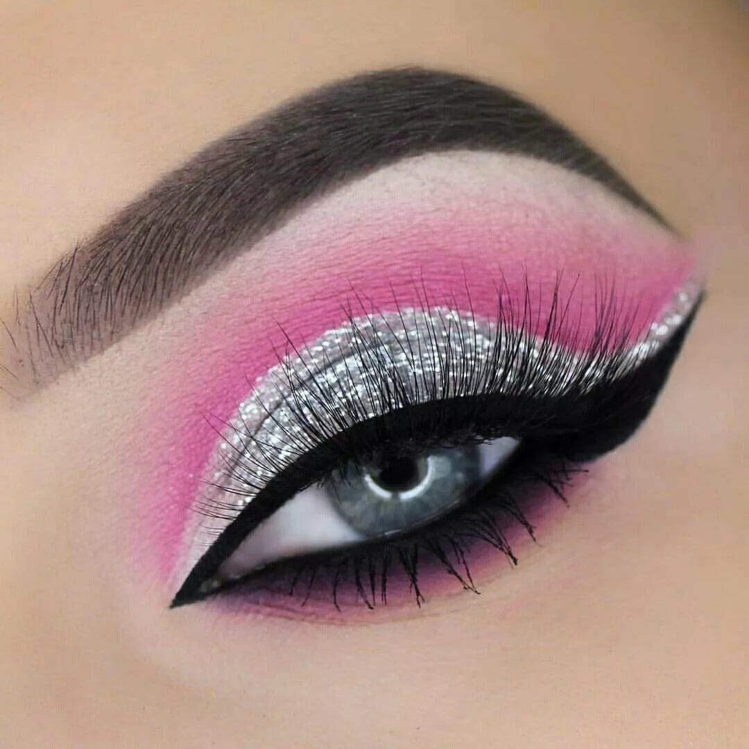 картинки макияж глаз простые осенний период