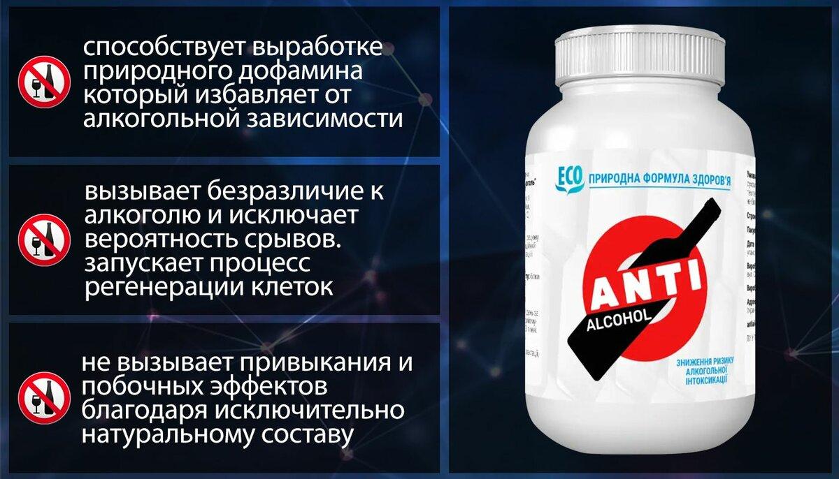 ANTI ALCOHOL от алкогольной зависимости в Северодвинске