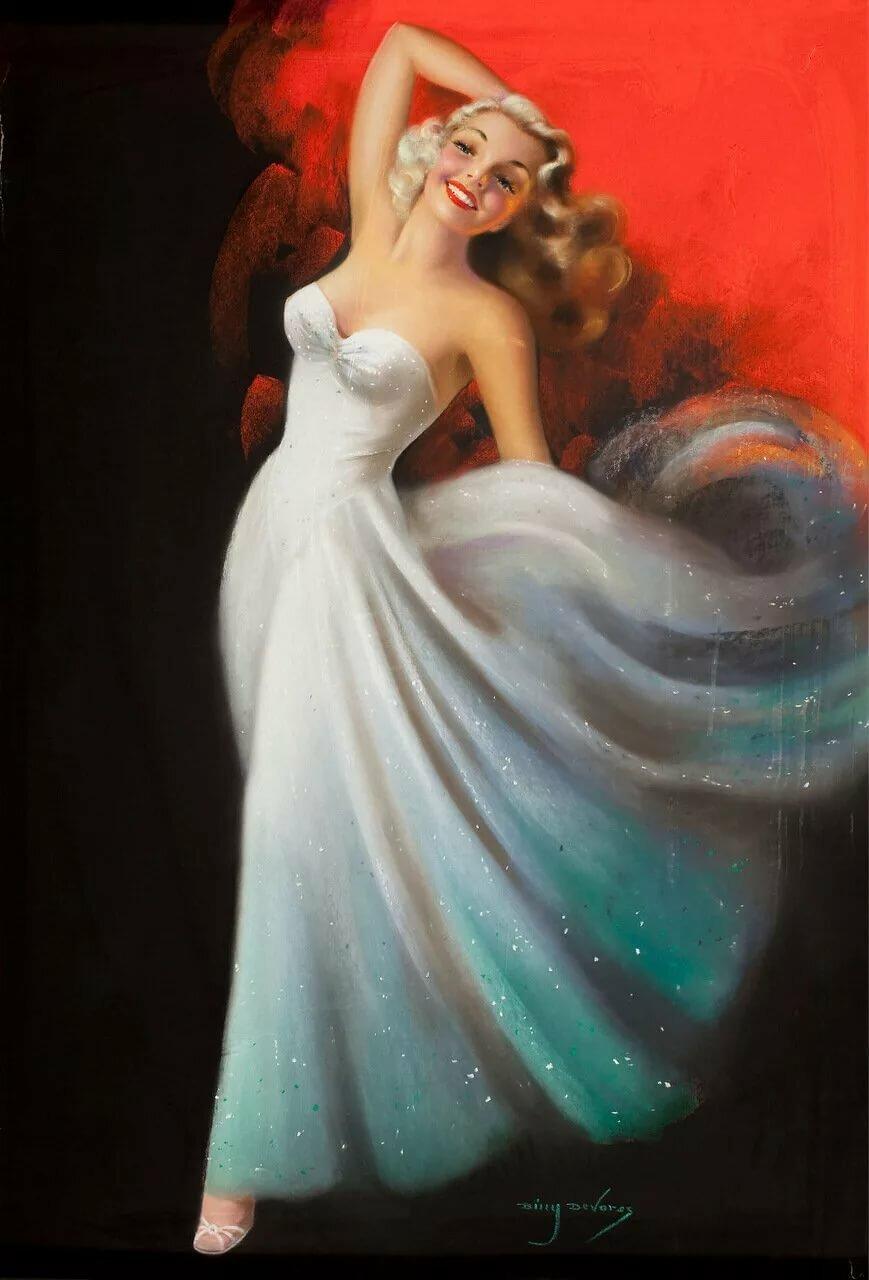 Папе день, открытка красавица невеста