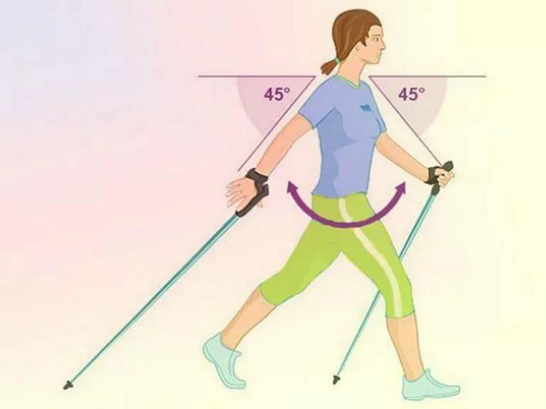 Как Правильно Ходить На Лыжах Чтобы Похудеть. Можно ли сбросить лишний вес с помощью скандинавской ходьбы?