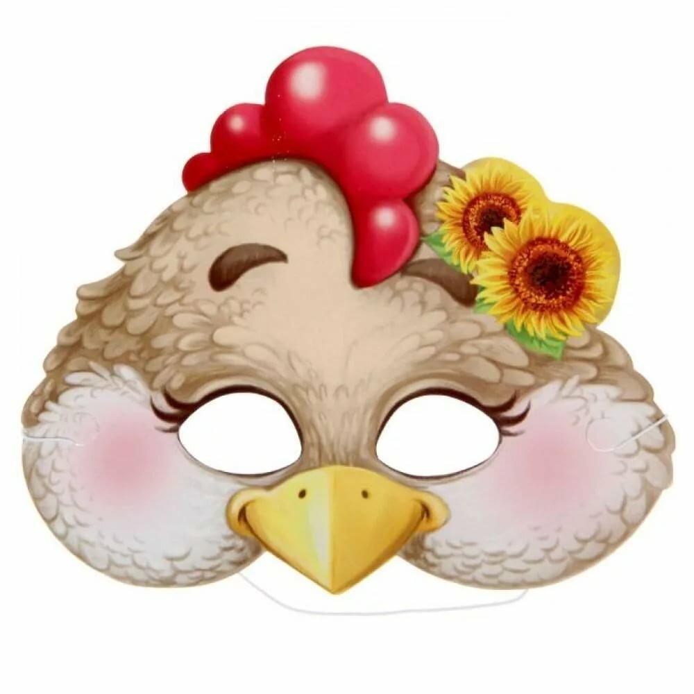 Картинки маски курицы на голову
