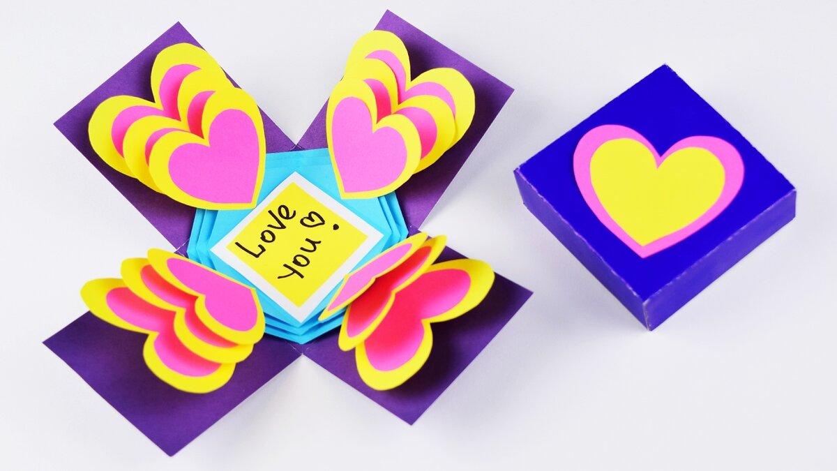 Подарки открытки своими руками на день рождения