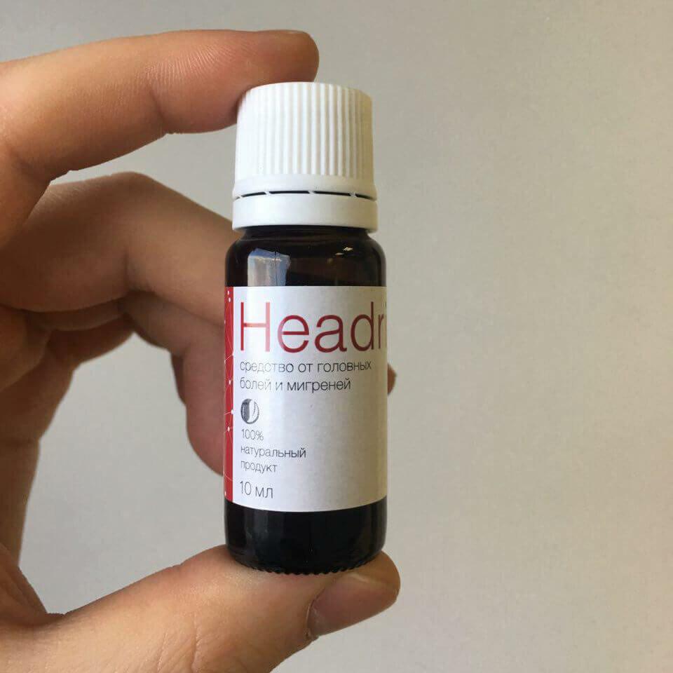 Headrix - от головной боли и мигрени в Твери