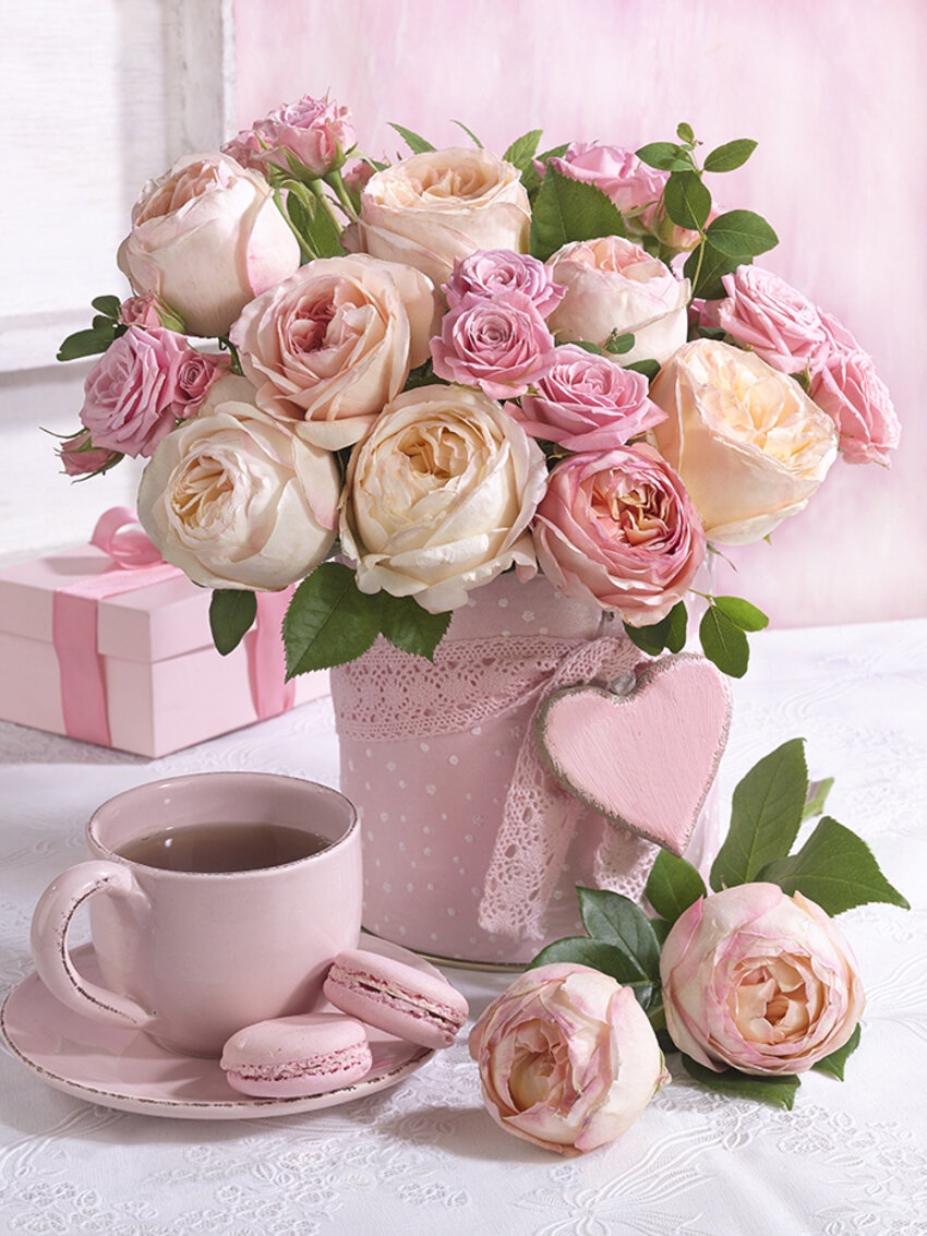 открытка розовое утро хороший недорогой квадроцикл