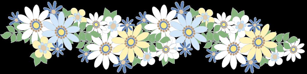 Цветы картинки для оформления полоски
