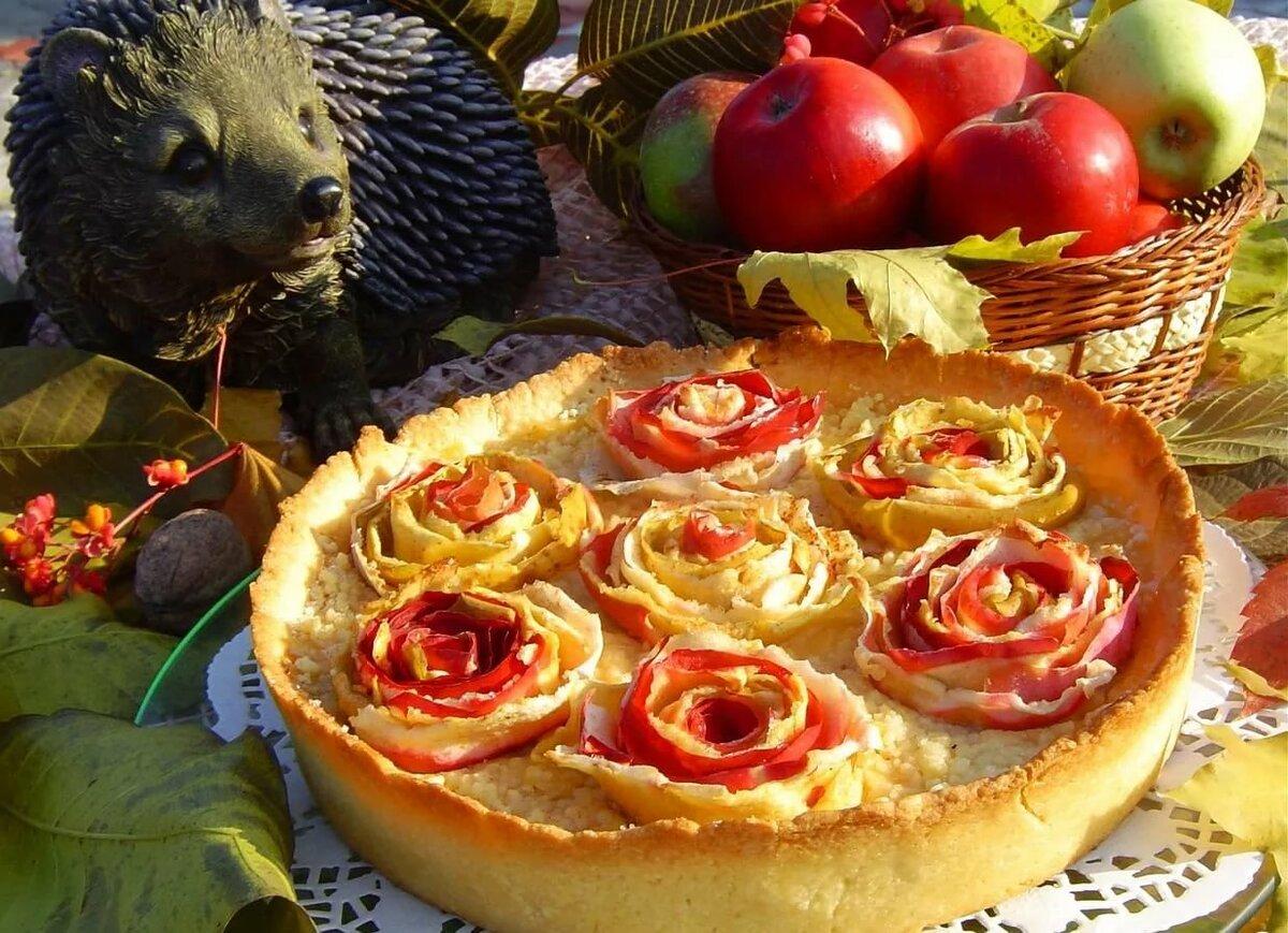 открытка пироги на день рождения