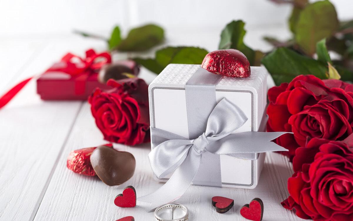 Картинка красивая цветы подарок