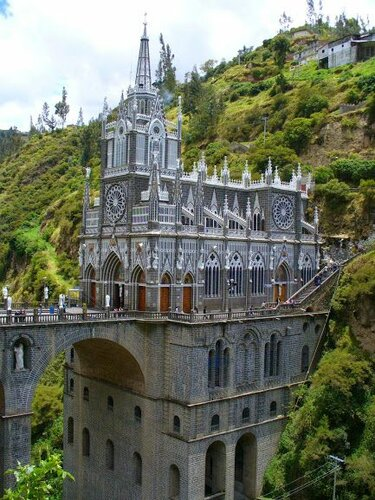 церковь лас лахас колумбия