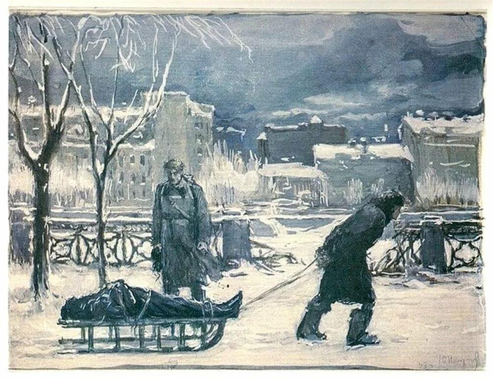 ряд рисунки осада ленинграда квартире выполнен дизайнерский