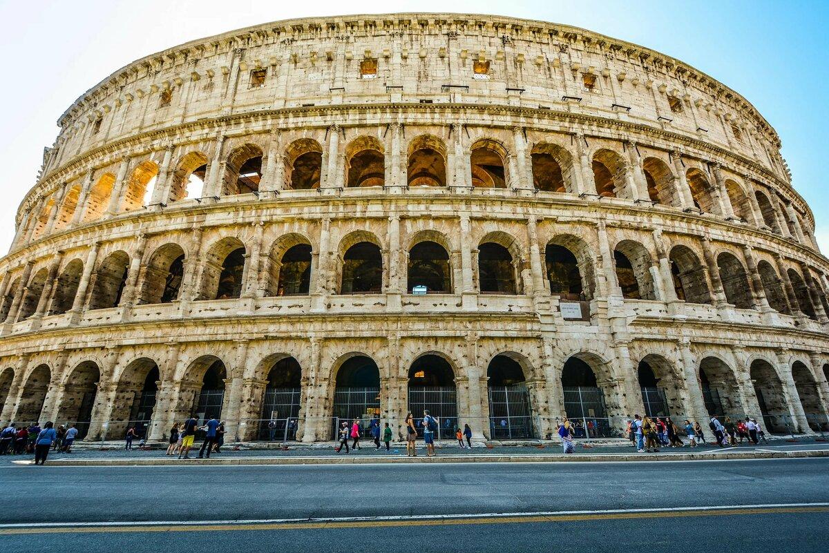 Открытки днем, картинки колизей древний рим